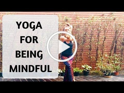 YOGA FOR BEING MINDFUL | YOGA WITH MEDITATION MUTHA