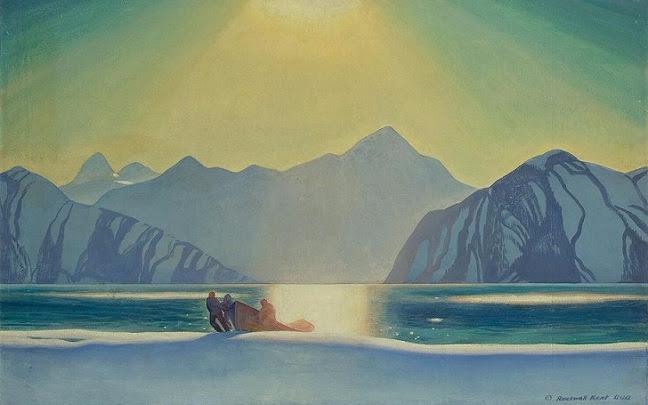 Sunglare Alaska (648x405, 212Kb)