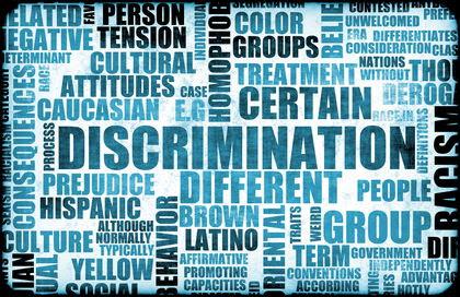 discrimination text