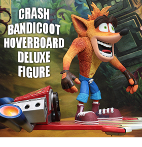 NEW CRASH BANDICOOT FIGURES