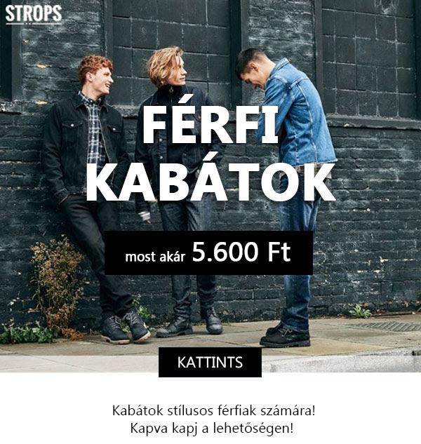 Kabát leárazás Strops.hu