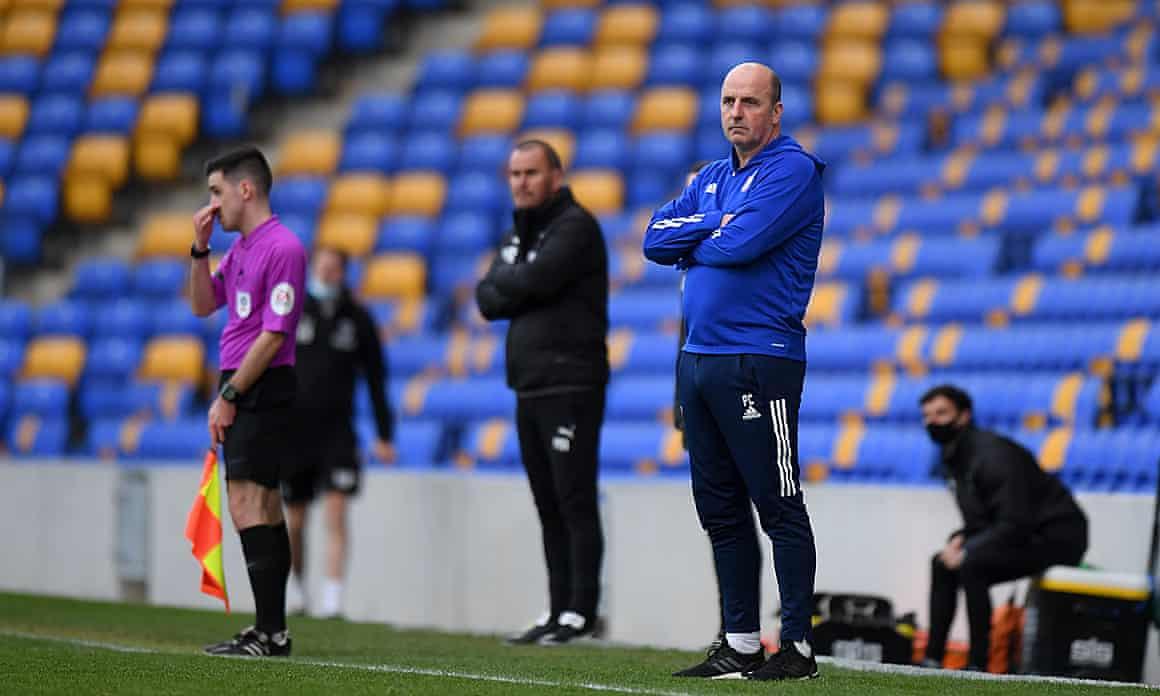 Paul Cook: not impressed.