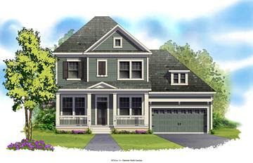 Backstrom home plan by David Weekley Homes