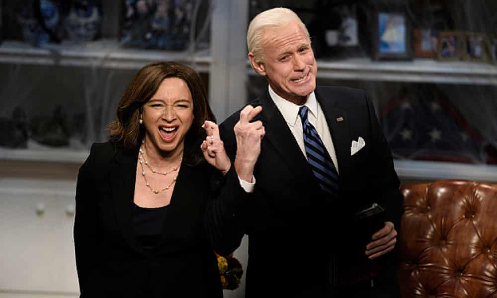 At last Jim Carrey's Joe Biden has a point – to call Trump a 'loooo-ser'!
