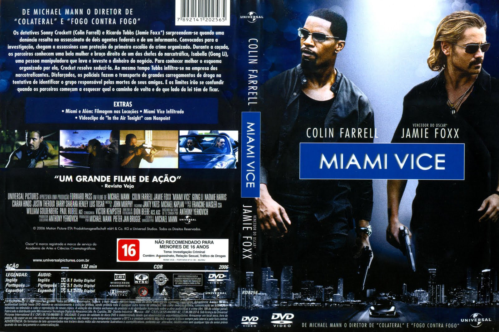 Miami Vice Torrent – BluRay Rip 720p Dublado (2006)
