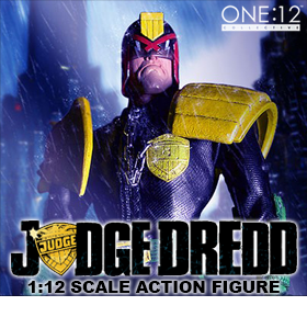 1:12 SCALE JUDGE DREDD FIGURE