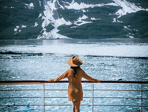 Top 10 Reasons to sail Cunard in Alaska Hubbard Glacier