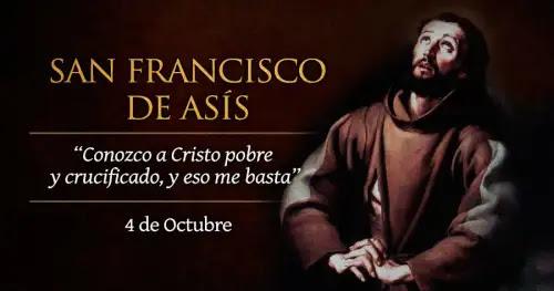 Hoy celebramos a San Francisco de Asís, ejemplo de pobreza, armonía y paz