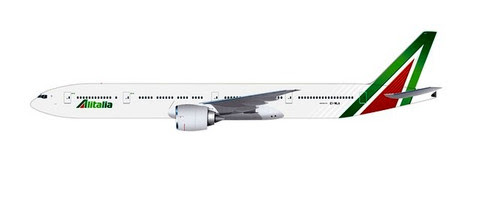 Herpa Snap-Fit (Wooster) 1:200 | Boeing 777-300ER Alitalia,'Roma' | is due: January / February 2020