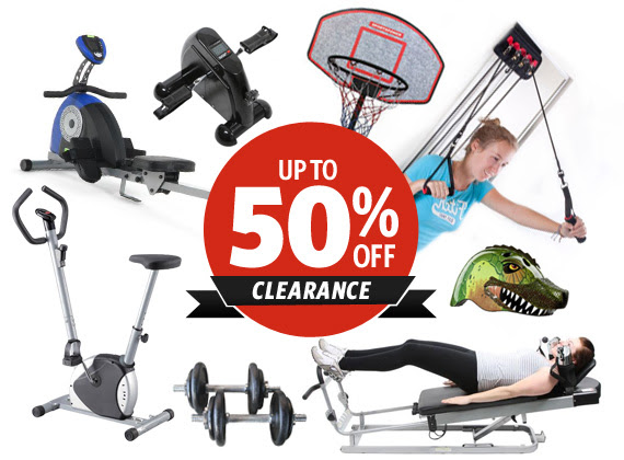 Save Up to 50% OFF Sports & Fitness Clearance at DealsDirect.com.au