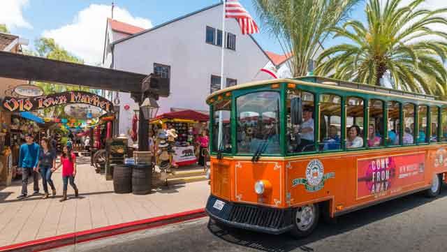 Trolley Tour in San Diego