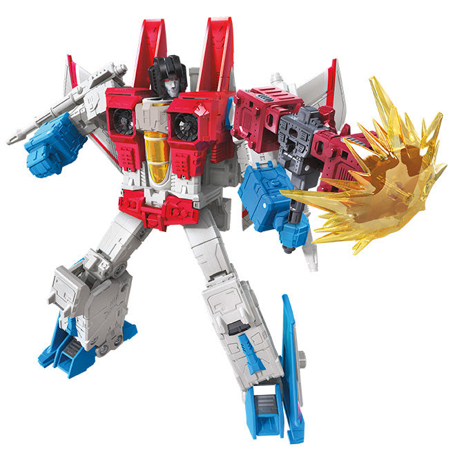 Image of Transformers Generations War For Cybertron Earthrise Voyager Wave 1 - Starscream Earth