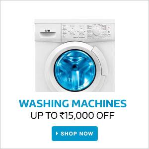 Washing Machines | Upto Rs.15000 Off