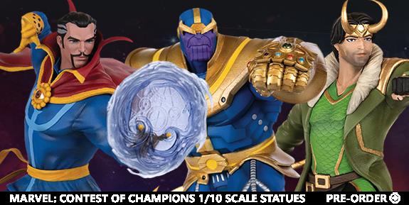 Marvel Statues