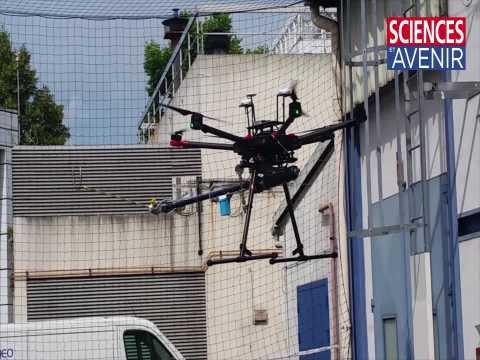 Engie teste un drone pulvérisateur