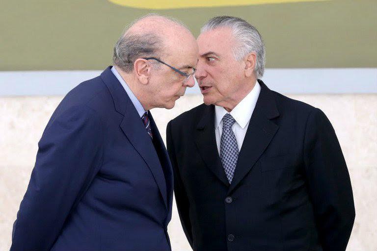 José Serra e Michel Temer em junho: no novo governo, a mudança no Itamaraty é a mais evidente