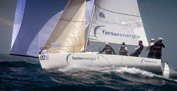 J/80 Factor Energia sailing Europeans