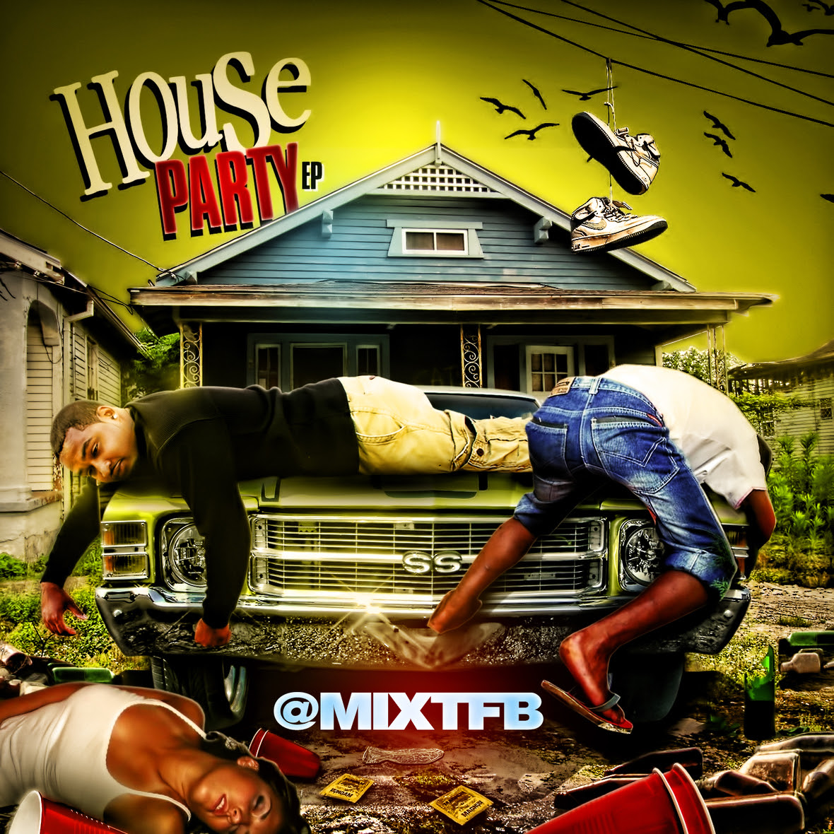 Mix T - House Party  Front