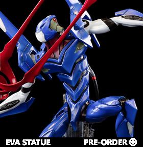 Rebuild of Evangelion EVA Unit-00 Through Outer Space Limited Edition Statue