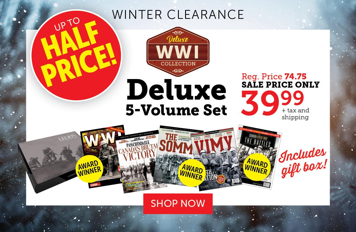 WW I Collection 5-Volume Set