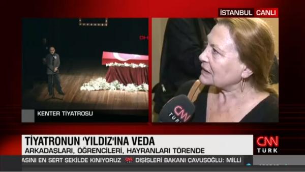Türk tiyatrosunun usta ismine veda... Yıldız Kenter için tören düzenleniyor
