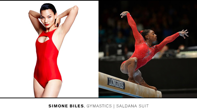 Train like Simone in the Saldana Suit >