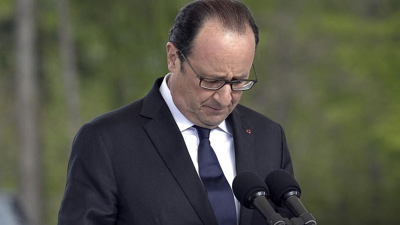 François Hollande le 26 avril.