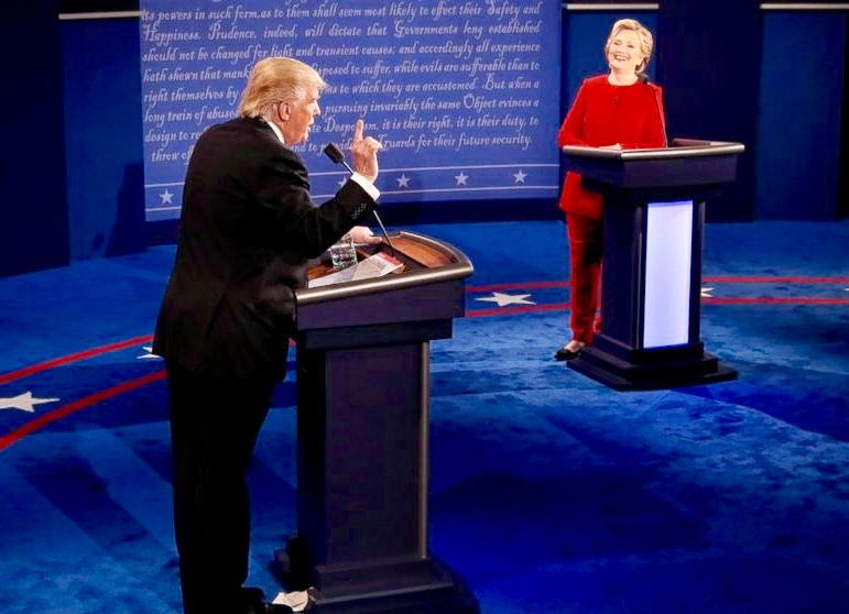 Trump Clinton Debate 2016