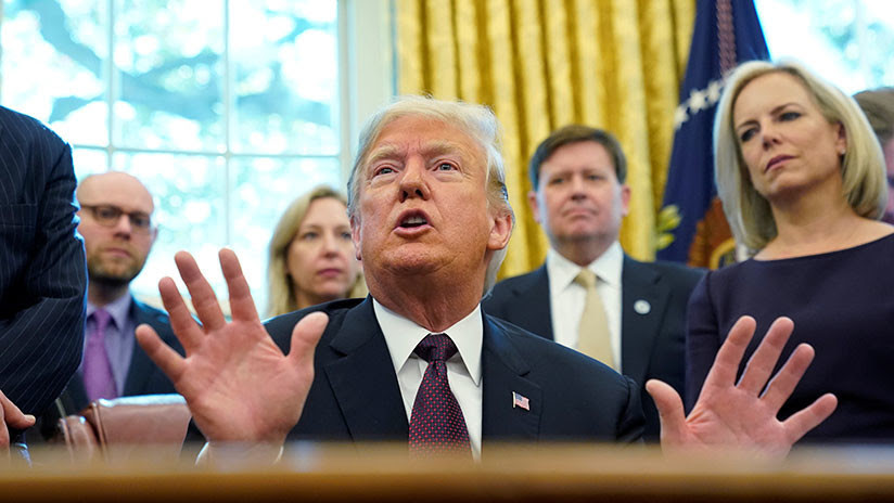 Trump contempla un 'plan B' si el Congreso rechaza dar dinero para el muro con México
