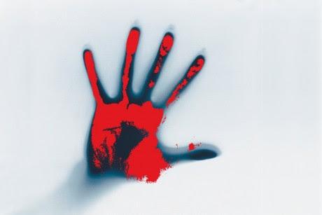 Bloody Handprint - Public Domain