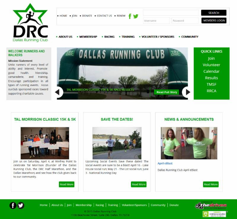 New DRC Website