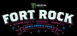 Description: onster Energy Fort Rock: Markham Park | Ft. Lauderdale — Sunrise, FL | April