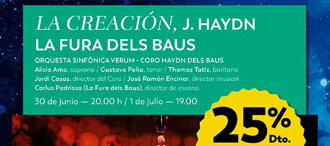 La Creación, J. Haydn. La Fura dels Baus