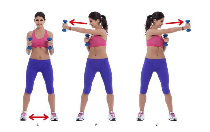 10 động tác giúp loại bỏ mỡ thừa vùng lưng và nách hiệu quả: Chị em nên tập để tự tin hơn - Ảnh 2.