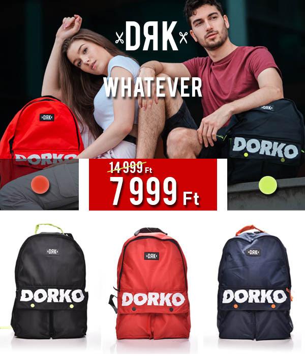 Sulikezdés divatosan - DORKO WHATEVER HÁTIZSÁKOK