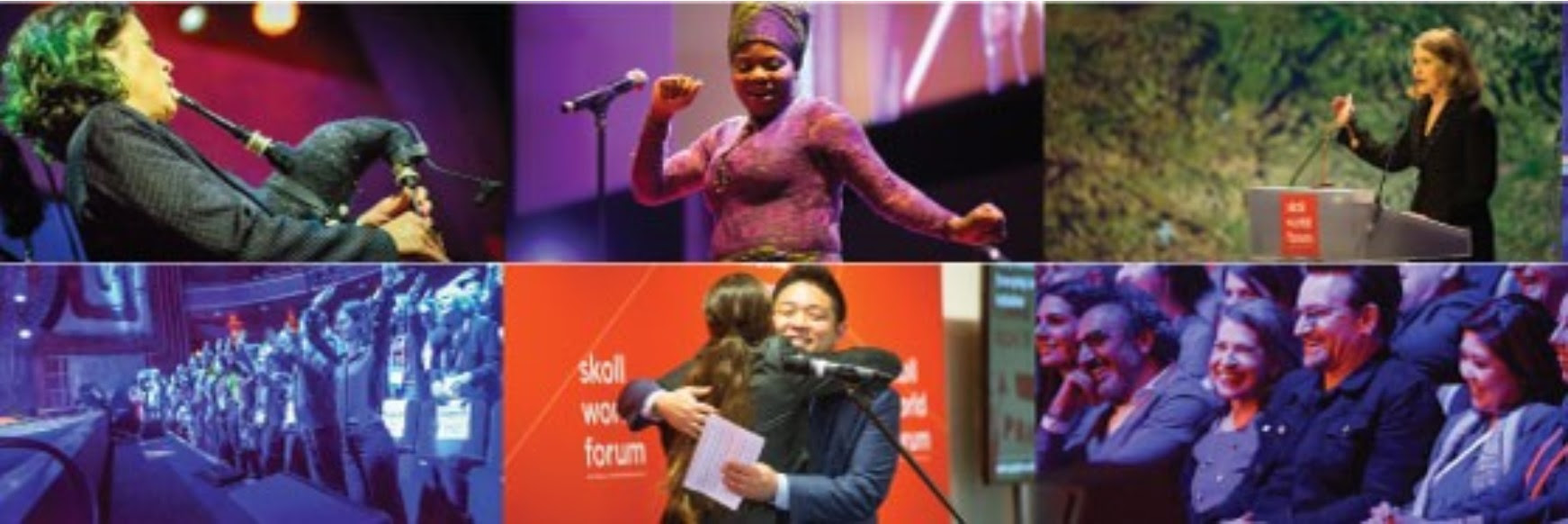 Photo Collage: Skoll World Forum