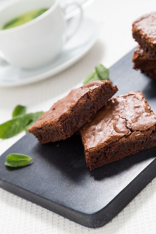 beautiful gluten free brownies