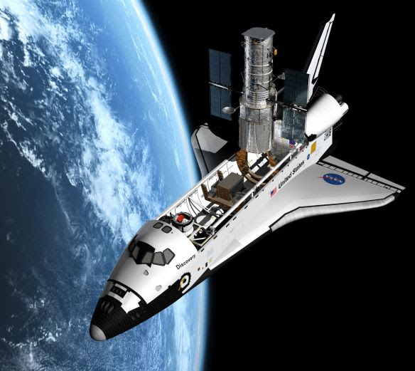 Hubble Telescope Launching