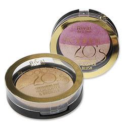 """Rival de Loop """"The Golden 20's"""" Bronzer + Blush"""