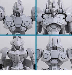 Xenogears Structure Arts Vol.1 Box of 4 Model Kits