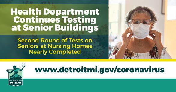 COVID Testing at Senior Buildings Continues