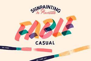 Fable Casual Procreate Brush