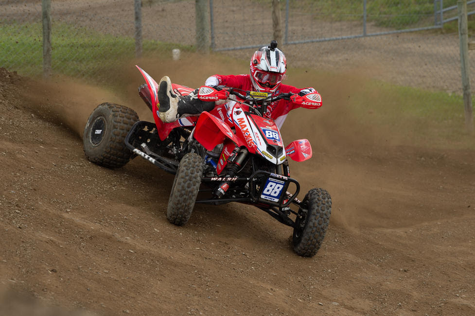 Joel Hetrick is looking to keep his momentum rolling into this weekend's RedBud ATVMX National.