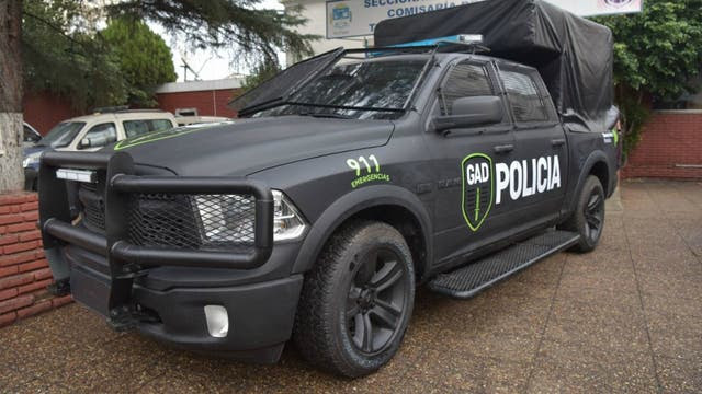 Una camioneta Chrysler RAM