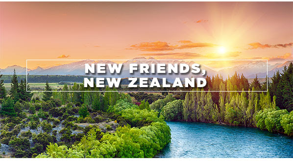 New Friends, New Zealand