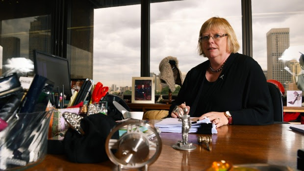 NSW chief judge in equity Julie Ward is among Supreme Court judges who attend a series of religious ceremonies in a ...