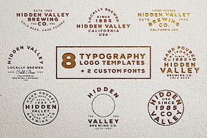 Hidden Valley Logo Templates