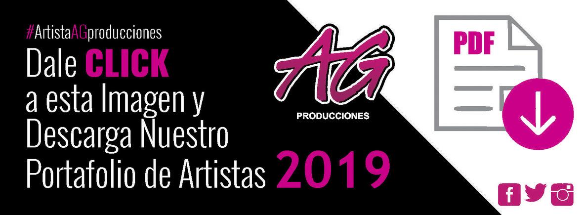 AG PRODUCCIONES - DESCARGA PORTAFOLIO 2019