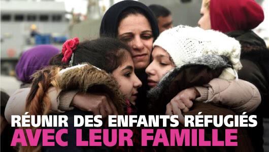 Savons les enfants réfugiés isolés