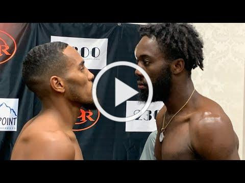RDR Promotions Weigh-In for October 9, 2021 card at the 2300 Arena in Philadelphia